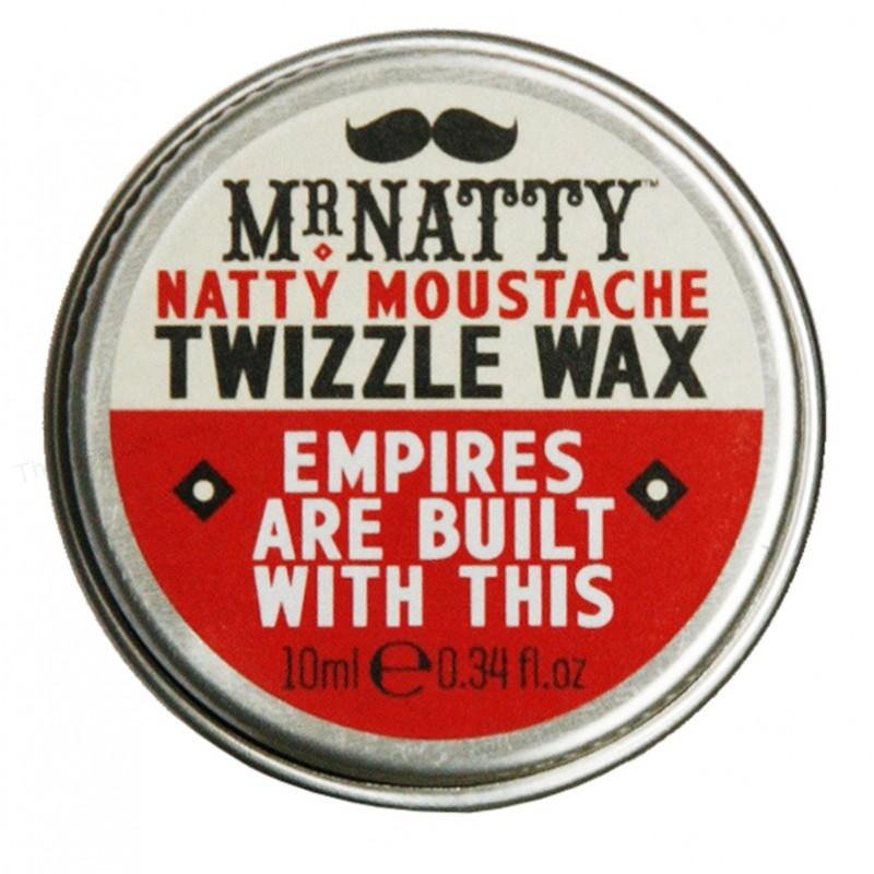 Vosk na knír Moustache Twizzle Wax od Mr. Natty - 10 ml