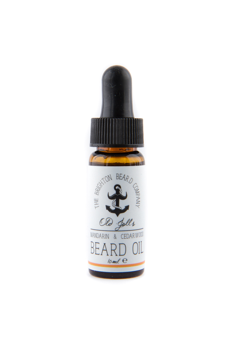 Olej na vousy 10ml The Brighton Beard Company - Mandarinka & Cedrové dřevo