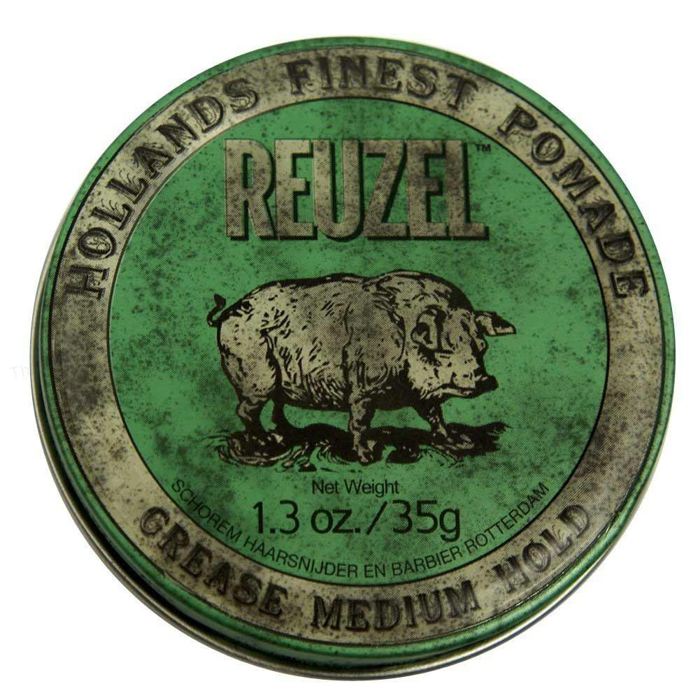 Reuzel Green Grease Medium Hold Piglet 340g