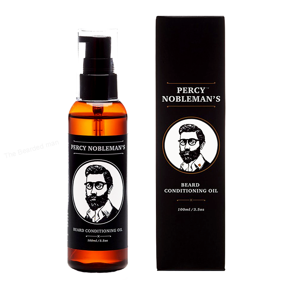 Percy Nobleman olej na vousy 100ml