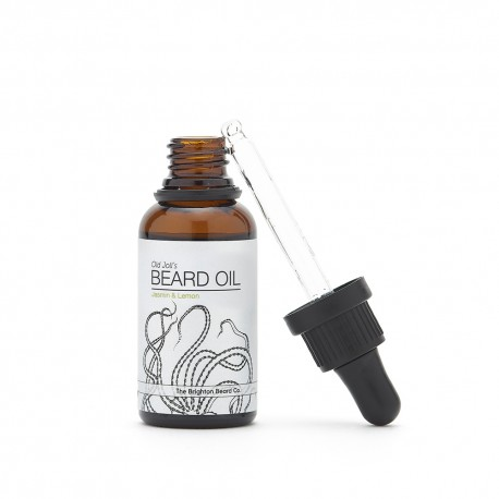 Olej na vousy od The Brighton Beard - Jasmin & Lemon, 30 ml