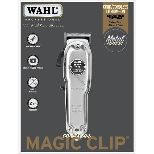 WAHL Cordless Magic Clip Metal Edition