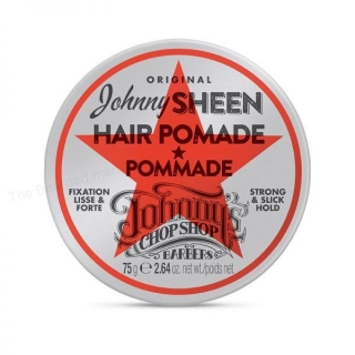 JOHNNY'S CHOP SHOP SHEEN STRONG HOLD POMADE 75G